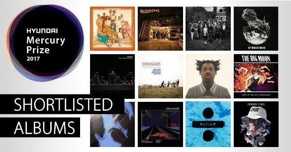 mercury 2017 albums